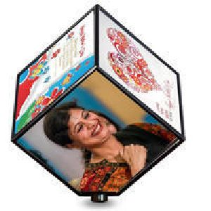 Personalized Rotating Cube