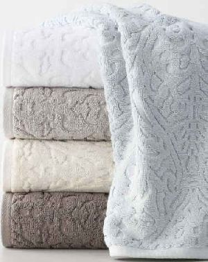Solid Dyed Jacquard Towel