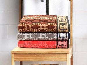 Twisty Jacquard Towel