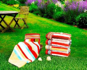 Valle Stripe Towel