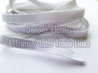 white knitted elastic