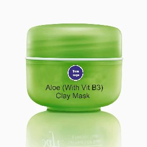 Aloe with Vit B3 Clay Mask