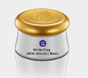 White Clay with Arbutin Mask