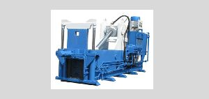 Double Compression Iron Scrap Baling Press
