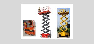 Self Propelled Battery Operated Scissor Lift