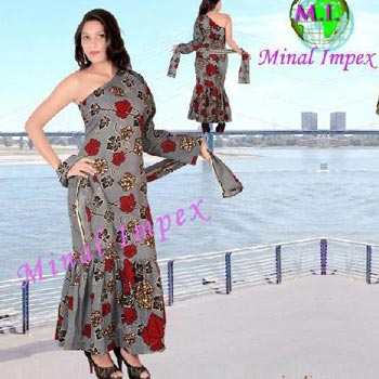 Long designer Dresses african print