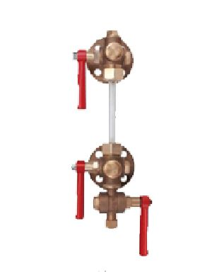 Bronze Sleeve Packed Water Level Gauge Flanged