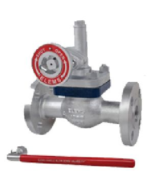 Cast Steel Parallel Slide Blow Down Valve Flanged