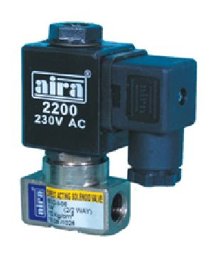 direct acting type solenoid valve