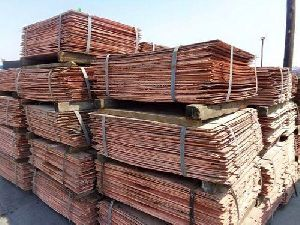 copper cathodes and copper scrap