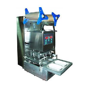 Automatic Cup and Tray Sealing Machine