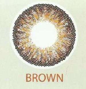 3 Tone Brown Contact Lenses