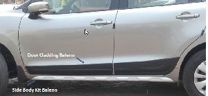 Baleno Door Claddings and Side Body Kit