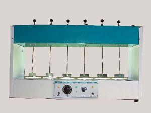 Six Jar Test Apparatus