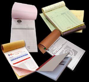 Bill Book Printing
