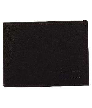 SKU-ACW-2 ASRA Creation Leather Black Wallet
