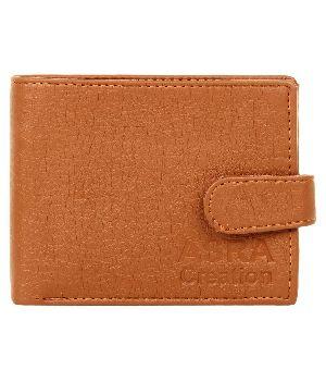 SKU-ACW-5 ASRA Creation Leather Brown Wallet