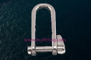 Long D Shackle with Key Pin