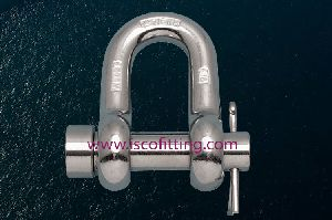 Stainless Steel Round Pin Chain Shackle