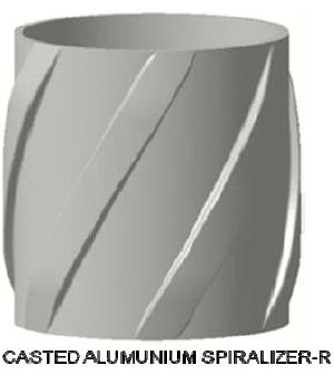 Casted Alumunium Spiralizer-R