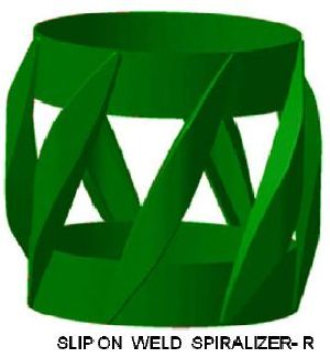 Slip-On Weld Spiralizer Centralizer-R