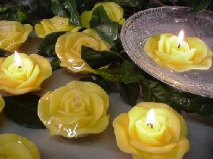Flower Floating Candles