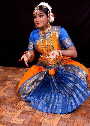 Bharatanatyam Dance Costume 02