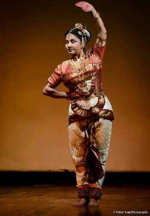 Bharatanatyam Dance Costume 04