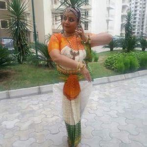 Bharatanatyam Dance Costume 06