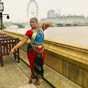 Bharatanatyam Dance Costume 09