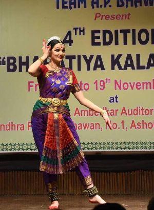 Bharatanatyam Dance Costume 19