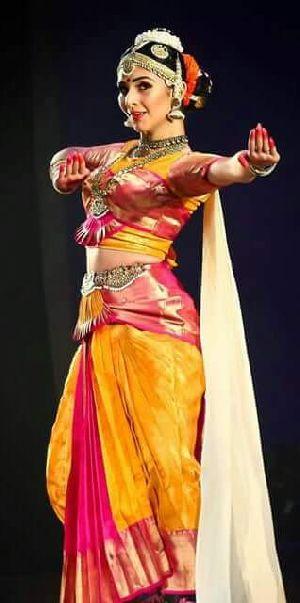 Kuchipudi Dance Costume 02
