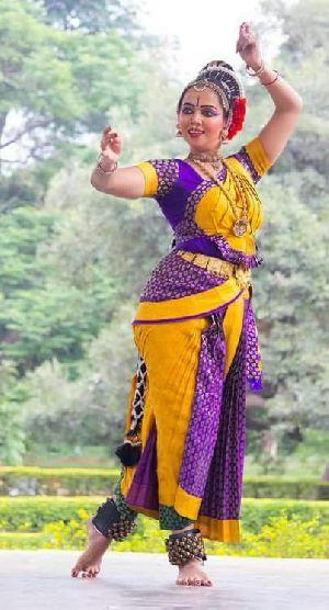 Kuchipudi Dance Costume