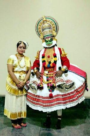 Mohiniyattam Dance Costume 01