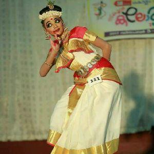 Mohiniyattam Dance Costume 05