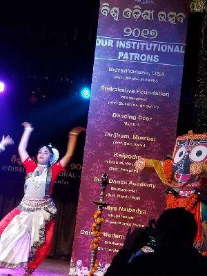 Odissi Dance Costume 07