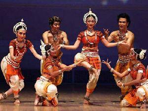 Odissi Dance Costume 12