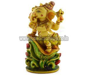 Handmade Antique Resin Baby Ganesha Statues