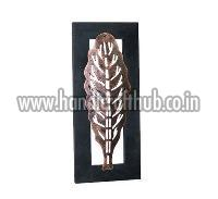 Bronze Color Iron Leaves Wall Frames
