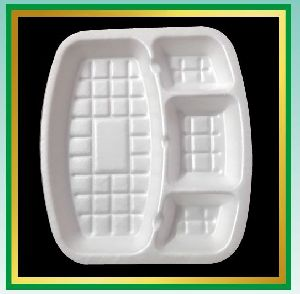 Square Disposable Plates