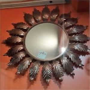 Wooden Decorative Wall Mirror