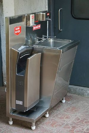 Manual Hand Wash Station / Hygiene Station