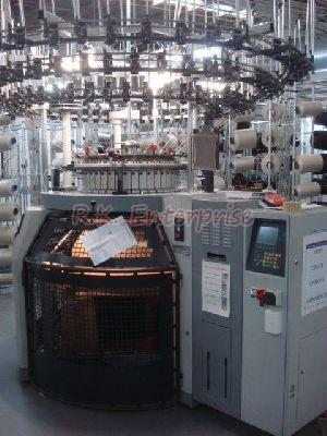 Used Mayer & Cie German Make Circular Knitting Machine