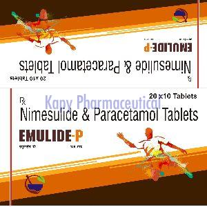 nimesulide and paracetamol
