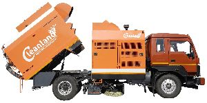 Sweeper Truck for Heavy Dusty Conditions