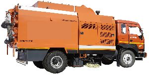 Truck Mounted Sweeper For Industrial Area
