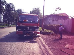 Truck Mounted Sweeper For Road