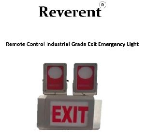 Remote Operated Industrial Grade Smart EXIT Emergency Light