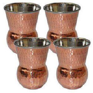 Copper Steel Matka Tumbler