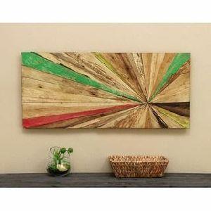 Abstract Wood Wall Art 01
